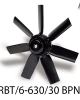 هواکش تاسیساتی HRBT-4-630-30BPN C