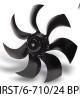 هواکش تاسیساتی HRST-6-710-24 BPN